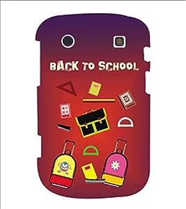 Fiobs Designer Phone Back Case Cover BlackBerry Bold Touch 9900 :: BlackBerry Dakota :: BlackBerry Magnum ( Back To School )