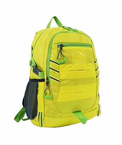 Outdoor Gear - Zaino/cartella alta visibilità e impermeabile - Dimensione A4 - Ideale per scuola, sport, andare in bicicletta