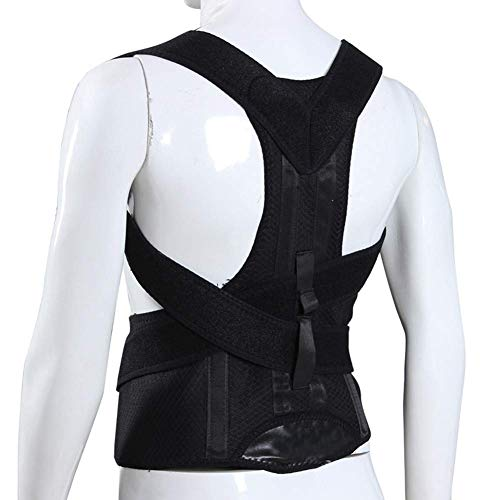 Womens Relief (Phcom Posture Corrector for Women and Men - Back Adjustable Brace and Shoulder Support Trainer for Pain Relief and Improve Bad Slouching Problems)