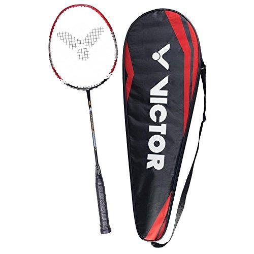 VICTOR Badmintonschläger V-3700 Magan für Einsteiger, Freizeit- und Hobbyspieler