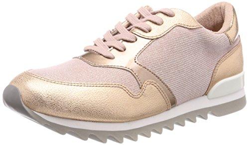 Tamaris Damen 23614 Sneaker, Pink (Rose Metallic), 39 EU