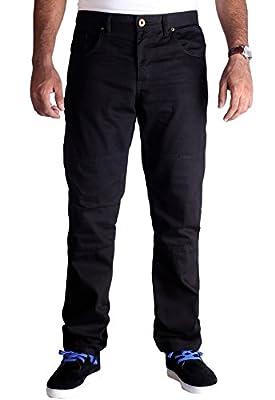 HB's Motorcycle DuPontTM Kevlar® Jeans - Premium Quality Motorbike / Motorcycle Jeans in Black