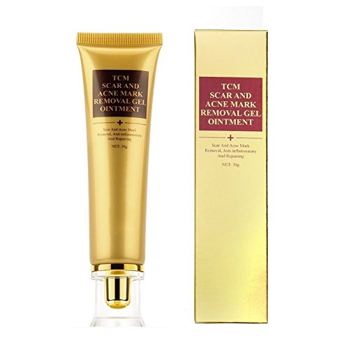 Akne Narbe entfernen Cream etrong Skin Repair Face Creme Akne Behandlung Mitesser Whitening Creme Dehnungsstreifen (30ml)