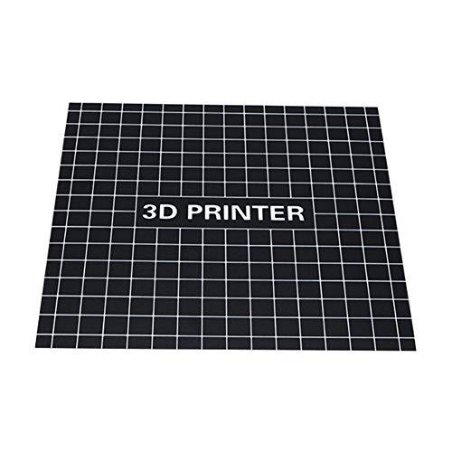 Yeshai3369 Bettüberwurf, beheizt, quadratisch, 3D-Drucker, 400 x 400 mm