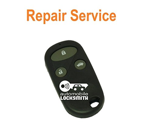Reparatur-Set für Jazz Gutschein für Honda Accord, CR-V, Civic, FR-V, HRV S2000, 3 Tasten Klappschlüssel Schlüssel Modernisierung alarm (Accord Honda Alarm)