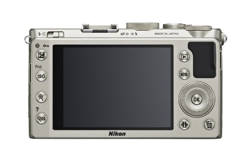 Nikon Coolpix A Digitalkamera (16 Megapixel, 7,6 cm (3 Zoll) LCD-Display, 28mm Weitwinkelobjektiv, Lichtstärke 1:2,8, Full HD Video) titan silber - 6