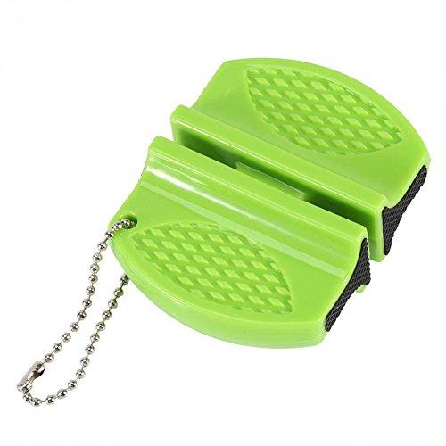 YSCYLY Messerschärfer Werkzeug Smart Mini Keramik Rod Wolfram Stahl Camp Pocket Küche (2 Stück)