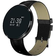 Bluetooth pulsera inteligente CF006 banda presión arterial monitor de frecuencia cardíaca fitness pulsera podómetro Smartband para teléfono Android , C1