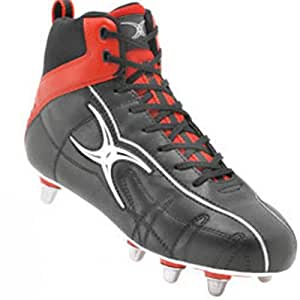 Gilbert Sidestep High Rugby Boots Size 12