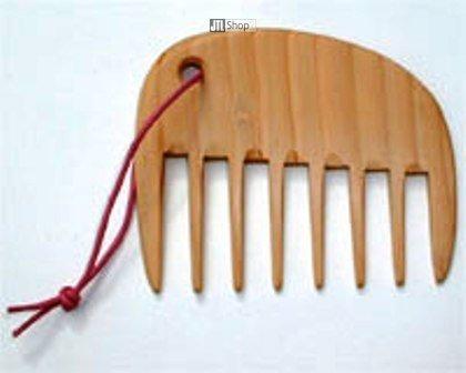 Kostkamm - Lockenkamm Holz, 10cm