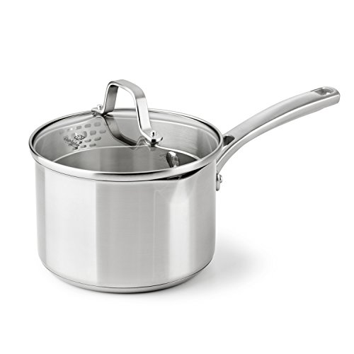 Calphalon Classic Stainless Steel Cookware, Sauce Pan, 2 1/2-quart