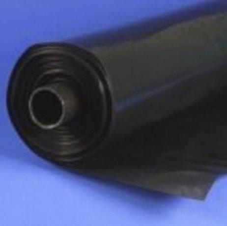 Film 150 microns noir opaque 12 m 2.50 m