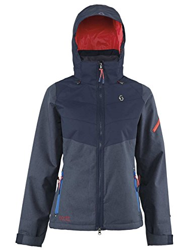 Für Frau Xs Ski-jacke (SCOTT Damen Funktionsjacke blau XS)