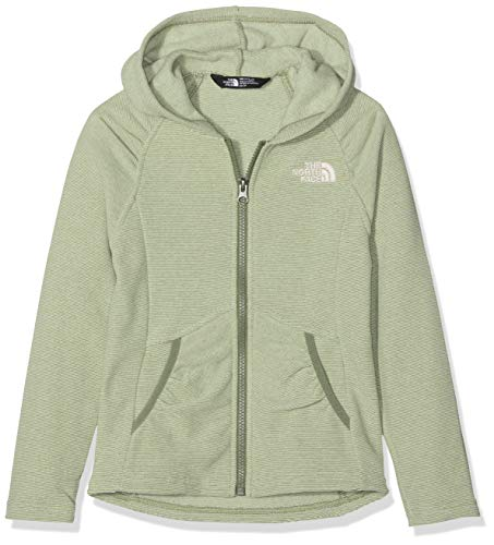 THE NORTH FACE Mädchen Mezzaluna Kapuzenjacke, Four Leaf Clover Stripe, L -