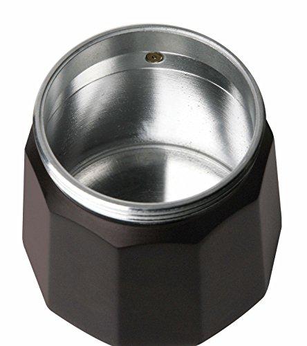 Taurus Cafetera de Vacío, Acero Inoxidable, Negro, 3 Tazas