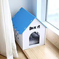 AB pet nest Nido para Mascotas Kennel Cat Litter Dog House Interior Invierno cálido Dog House