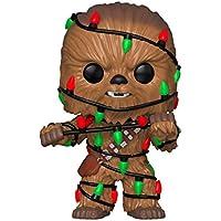FunKo - Pop! : Star Wars: Holiday Chewbacca mit Lights (Bobblehead), Mehrfarbig, 33886