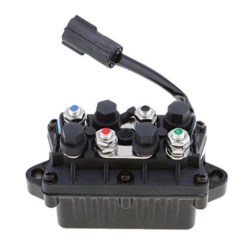 H HILABEE 2 Pin Motor Power Trim Kipprelais Box Für Yamaha Außenborder 63P819500000