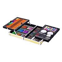 145 Pcs Art Set, Sketching and Drawing Handle Art Box