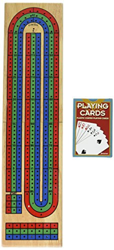 Pressman 1810 - Toys Cribbage Board (Cribbage Board-3-track)