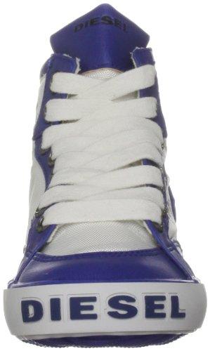 Diesel H-h Breaking Ch, Chaussure de sport garçon blanc/bleu