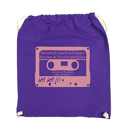 Buste Comiche - Ragazze Morte Non Mentono - Cassetta - Borsa Girevole - 37x46cm - Colore: Nero / Rosa Viola / Rosa