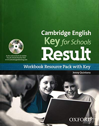 Cambridge English: Key for Schools Result: KET Result for Schools Workbook with Key Pack