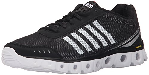 K-Swiss Performance X Lite Athletic Cmf, Chaussures de fitness homme Black/White/Fiery Red