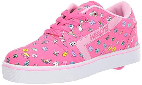 Heelys Gr8 Pro Shoes Hot PinkLight PinkEmoji (UK 13j EU 32)