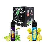 Set E-Liquid Mojito y Calippo de Limón de ElecVap - Sin Nicotina - 2 Sabores de 60ml Formato TPD - 0MG Nicotina - E-Liquido para Cigarrillos Electronicos - Kit de Sabores E Liquidos para Vaper