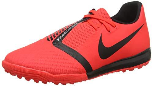 Nike Unisex-Erwachsene Phantom Venom Academy TF Fußballschuhe, Mehrfarbig Black/Bright Crimson 600, 42 EU - Für Nike Schuhe Turf Männer