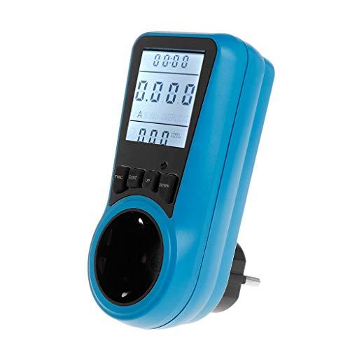 A0127 AC Power Meter 230V EU-Steckdose Digital Wattmeter Watt Amp Energiezähler - Fluke Power Meter