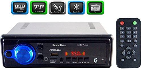 soundboss sb-1111bt car fm/usb/sd/aux/bluetooth player SoundBoss SB-1111BT CAR FM/USB/SD/AUX/BLUETOOTH PLAYER 41SxjAMhzcL
