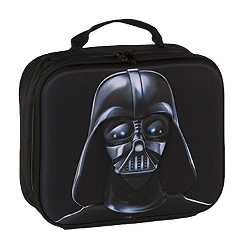 Star Wars-Borsa frigo rilievo 3D, colore: nero (Cerdá 76686)