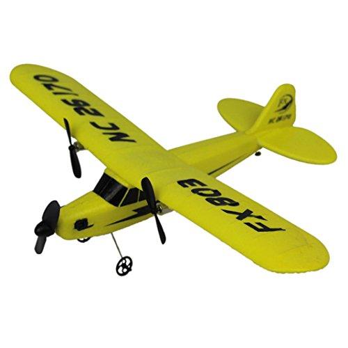 Ularma HL-803 RC helicóptero de control remoto avión planeador de espuma de EPP 2CH 2.4G juguetes