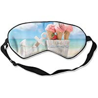Ice Cream Beach 99% Eyeshade Blinders Sleeping Eye Patch Eye Mask Blindfold For Travel Insomnia Meditation preisvergleich bei billige-tabletten.eu