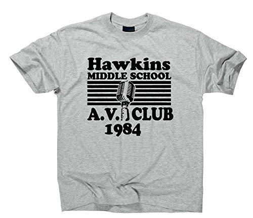 l AV Club Fan T-Shirt Fanshirt, S, Sport Grey ()