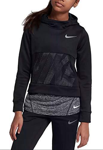 Nike Felpa JR Girl DRI FIT TASCA Davanti Junior Mod. 939536 XS