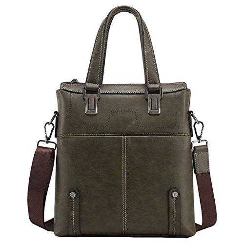 Kurierbeutel-Mannbeutel-Schulterbeutel-Handtasche Große Kapazität Aktenkoffer Beiläufiger Computerbeutel Green