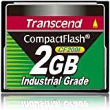 Transcend Industrial Grade CF200I 2GB Compact Flash Speicherkarte