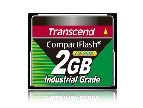 Transcend Industrial Grade CF200I 2GB Compact Flash Speicherkarte - Extreme 2gb Flash Speicherkarte