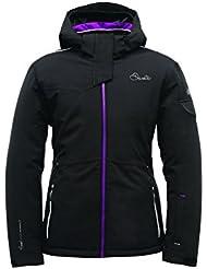 Dare 2b Girls' Merriment Ski Jacket-Electric Pink, 32-inch