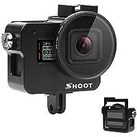 D&F Protective Aluminum Alloy Skeleton Housing Case with 52mm UV Filter for GoPro Hero 7 Black/Hero 6/Hero 5/HERO(2018) Action Camera