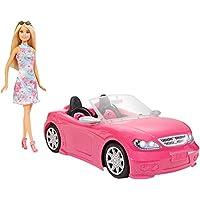 Barbie Muñeca y su coche descapotable (Mattel FPR57)