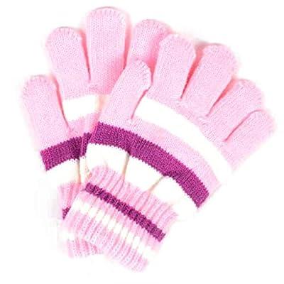 Rayzeda Children Girls Boys Kids Magic Stretchy Mittens Knitted Gloves Winter Warmer New