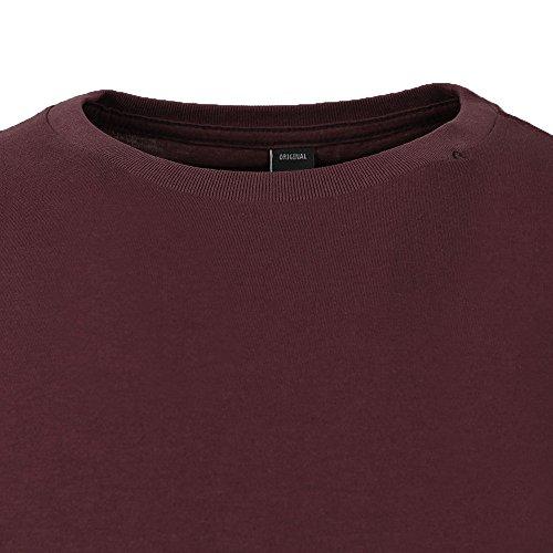 Replay Herren T-Shirt M3039s.000.2660 Burgunderrot