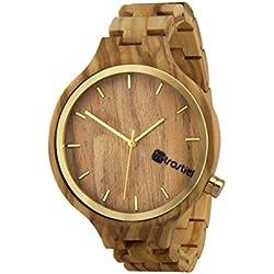 Holz Armbanduhr Eldorado Olive - Herren