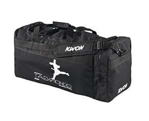 KWON Trainingstasche Taekwondo, schwarz, 48 x 24cm, 5016006