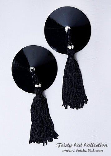 edle-lack-pasties-mit-strass-rondell-goddess-schwarz