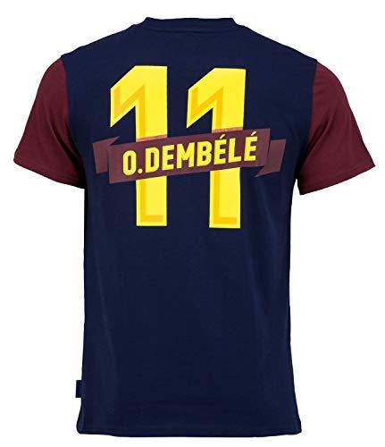 Fc Barcelone T-Shirt Barça - Ousmane DEMBELE - Collection Officielle Taille Adulte L